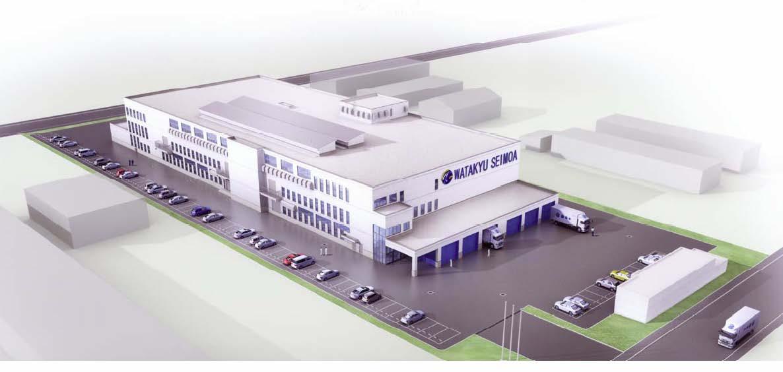 新旭川工場パース
